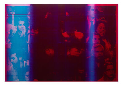 Emmanuel Van der Auwera, 'Memento 17 (Red IV, Study for Nuit Américaine)', 2018
