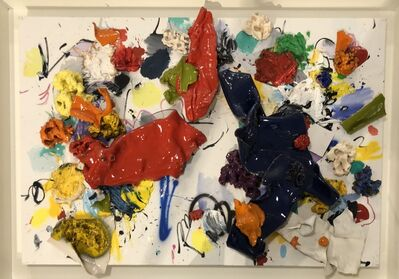 Ismael Lagares, 'Blue and Red V', 2019