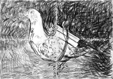 Adel Abdessemed, 'Pigeon', 2016