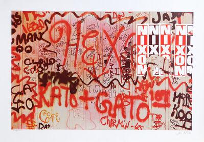 Jon Naar, 'Nixon from Faith of Graffiti', 1974