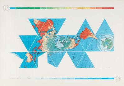 R. Buckminster Fuller, 'Dymaxion Air - Ocean World Map', 1980