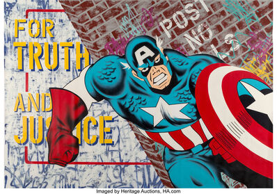 Seen UA, 'Captain American', 2007