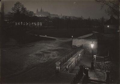 Josef Sudek, 'Prague pendant la nuit', 1950-1959