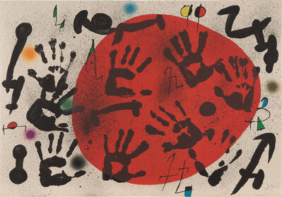 Joan Miró, 'Les Agulles del Pastor (The Shepherd's Hands)', 1973