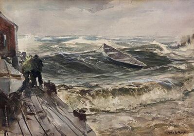 John Whorf, 'Dory Adrift', ca. 1930-40