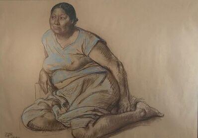 Francisco Zúñiga, 'Mujer sentada', 1980