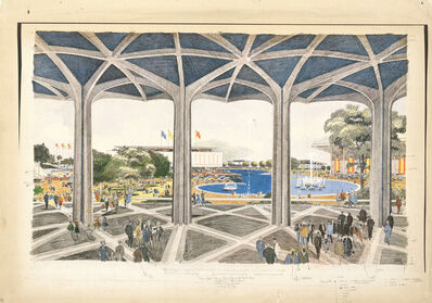 Carlos Diniz, 'Los Angeles International Exposition of 1966 (Ladd and Kelsey, Architects)', 1961