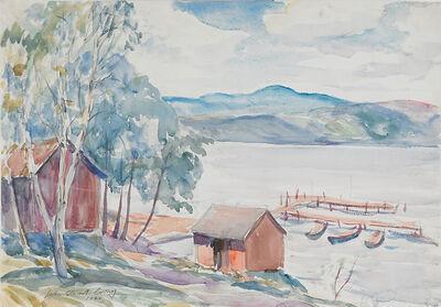 John Steuart Curry, 'Untitled (Lake Scene)', 1924