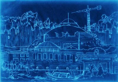 Gayle Chong Kwan, 'Milawi Parliament - Blue Print series', 2012