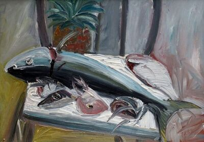 Paul Ryan, 'Fishes and Pineapple', 1989