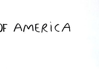 Dan Perjovschi, 'T Drawings (Of America)', 2016