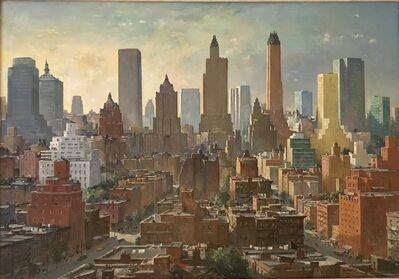 Charles Ernest Cundall, 'New York', 1950