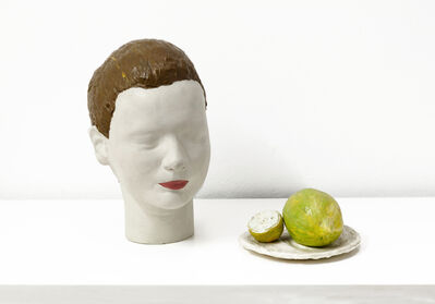 Eduardo Costa, 'Portrait of A Young Woman Who Has Just Washed Her Face with Lemon Juice', 1999