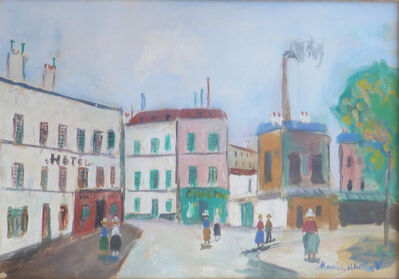 Maurice Utrillo, ' The Factories', 1954