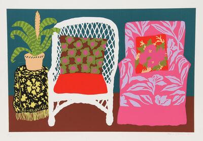 Hunt Slonem, 'Bromilliad', 1980