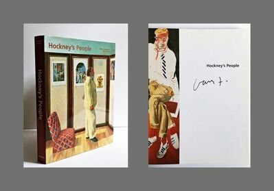 David Hockney, 'Hockney's People (Hand Signed)', 2003