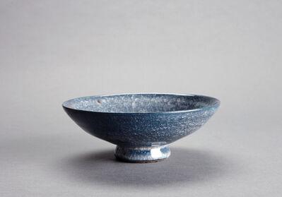 Young Jae Lee, 'Shallow bowl, chalk and nepheline syenite glaze with engobe', 2016