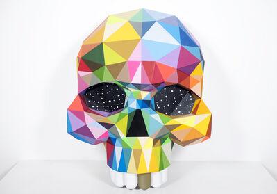 Okuda San Miguel, 'Skull', 2018