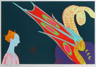 Andy Warhol, 'Saint George and the Dragon (Unique TP)', 1984