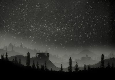 Vanessa Marsh, 'Fukushima with Mt. Baker', 2014