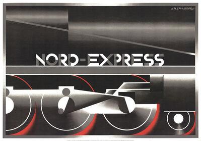 A.M. Cassandre, 'Nord-Express (RESTRIKE)', 1995