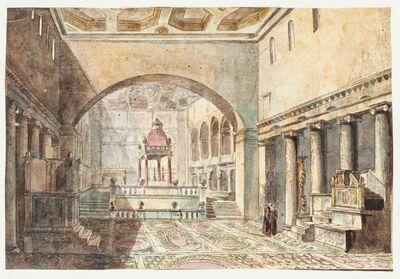 Unknown, 'Basilica di San Lorenzo', 19th Century
