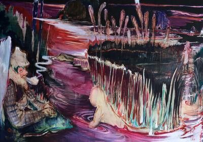 Rao Fu, 'Nachtfischen II', 2018