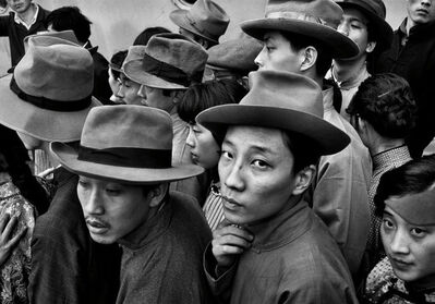"Patrick Zachmann, 'Shooting of the film ""Liao Zhong Kai"" by Tang Xiao Dan. The film is set in the 1920s. Shanghai. China. 1982.', 1982"