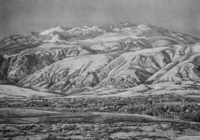 Mary Claire Becker, 'Postcard of the Bighorn Mountains', 2020