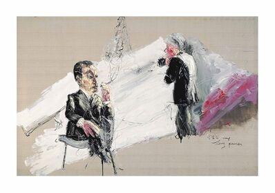 Zeng Fanzhi 曾梵志, 'Andy Warhol's Photoshoot'