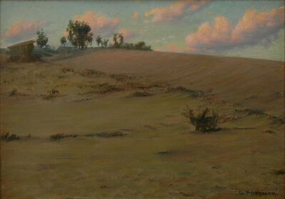 Alexander Harrison, 'Beach Shadows', ca. 1900