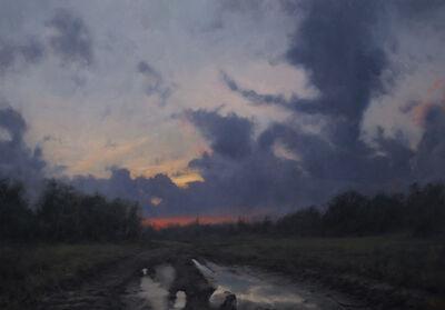 David Gluck, 'Road at Dusk', 2020