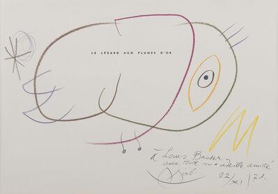 Joan Miró, 'Sans titre', 1971