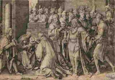 Lucas van Leyden, 'The Adoration of the Magi', 1513