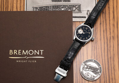 Bremont, 'A fine and attractive stainless steel limited edition wristwatch with guarantee and fitted presentation box, numbered 93 of a limited edition of 300 pieces', Circa 2014
