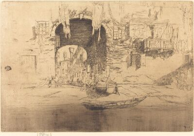 James Abbott McNeill Whistler, 'San Biagio', 1879/1880
