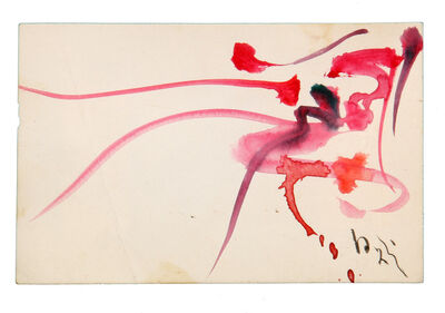 "Kazuo Shiraga, 'Untitled (from ""gutai card box"")', 1962"