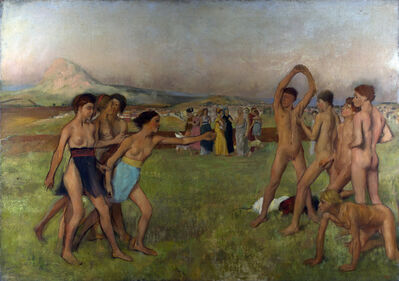 Edgar Degas, 'Young Spartans Exercising', ca. 1860