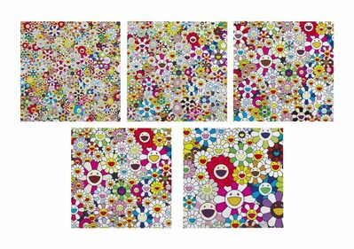 Takashi Murakami, 'Flowers Blooming in This World and The Land of Nirvana', 2013