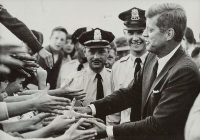 Various Artists, 'Fifty Press Photographs of John F. Kennedy (50 works)', 1960s