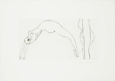 Louise Bourgeois, 'Arched Figure', 1993