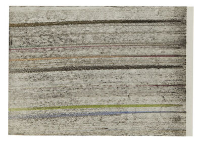 Jack Whitten, 'Topographical Space #3', 1974