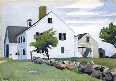 Edward Hopper, 'Farm House at Essex', 1929