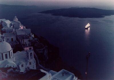 Mario De Biasi, 'Dall'isola di Santorini', 1978