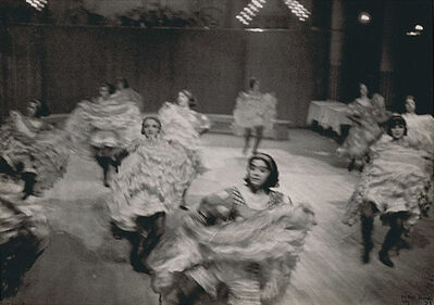 Ilse Bing, 'French Cancan, Moulin Rouge, Paris', 1931/1941