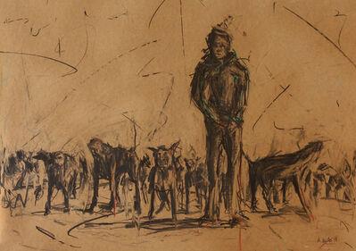 Asanda Kupa, 'Humans and Monkeys, Dog eat Dog', 2018
