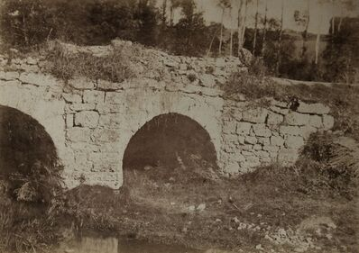 Jean-Louis-Henri Le Secq, 'Stone Bridge Saurat', ca. 1850