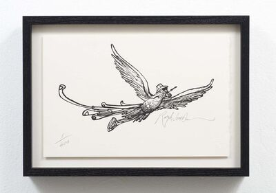 Ralph Steadman, 'Flying High ', 2005