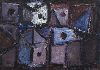 Iberê Camargo, 'Dado Branco', 1982