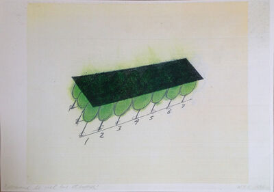 David Lamelas, 'Quand le ciel et lourd', 1990
